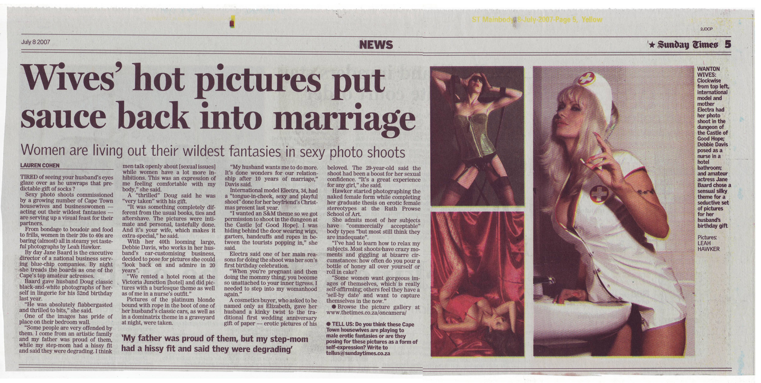 The Sunday Times Article July 2007