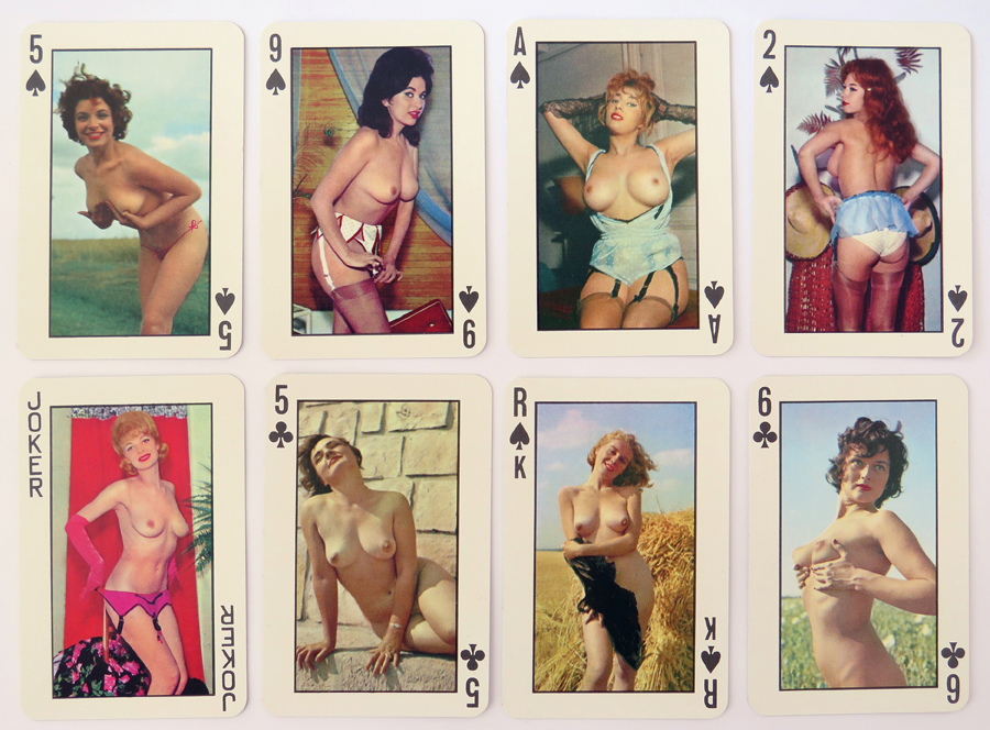 Vintage Pinup Playing Cards 004