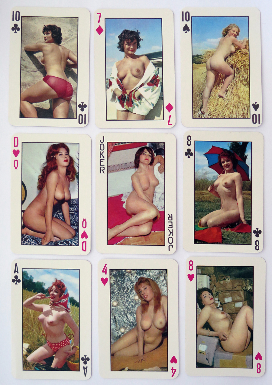 Vintage Pinup Playing Cards 007