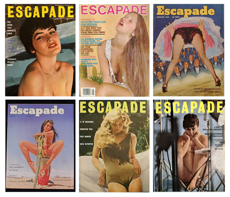 A few other mixed Escapade covers I found on the internet...