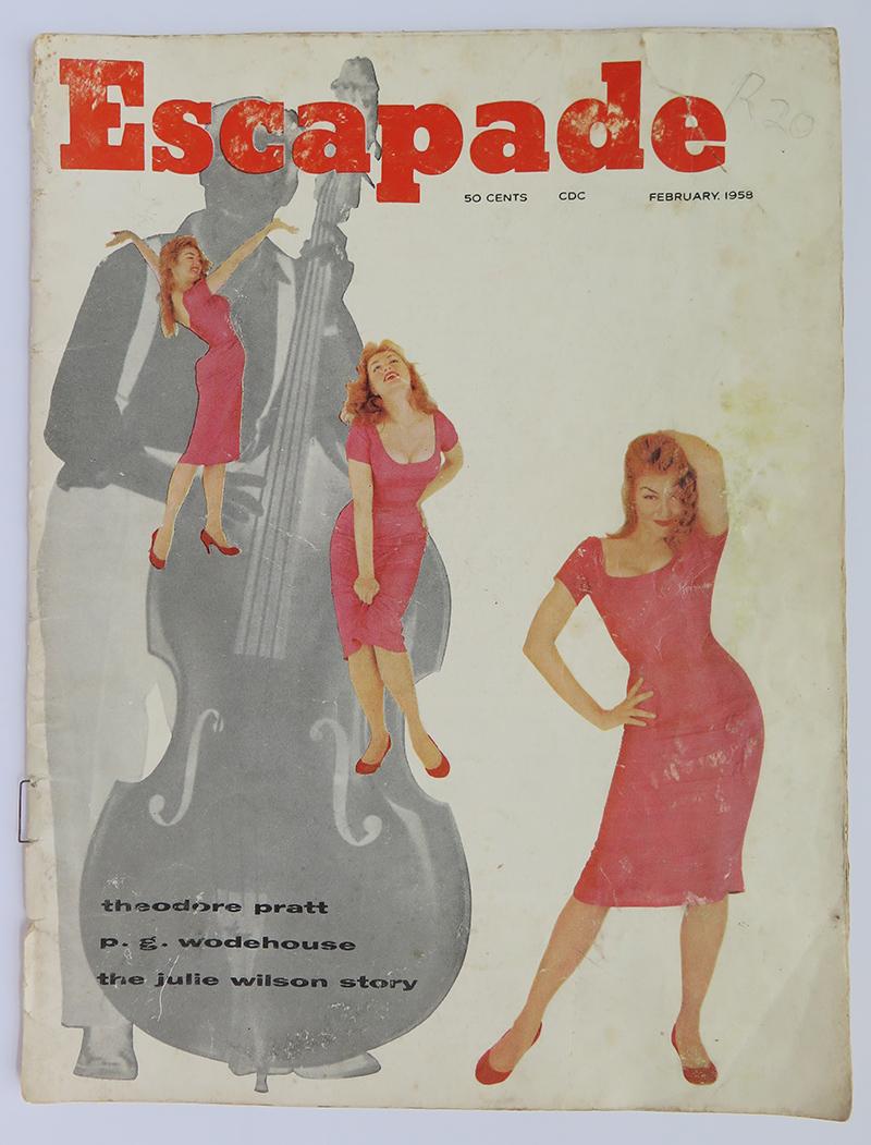 Escapade Magazine February 1958 - 04