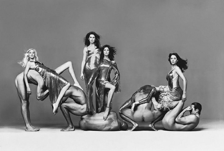 Avedon for Versace 1994 Campaign