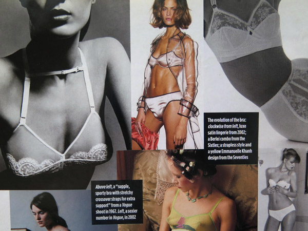 ARTICLE- In Search of the perfect Bra 03 By Daisy Garnett