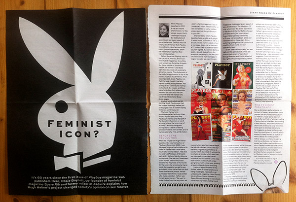 Feminist Icon - Article about Playboy 1