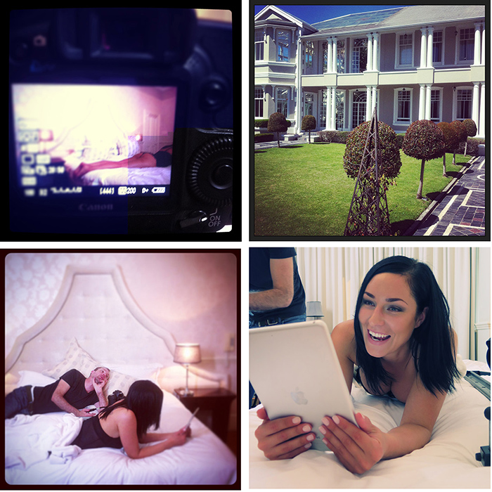 Some behind the scenes moments captured during the making of www.passionfruit.co.za's NuMetro cinema advert last year.
