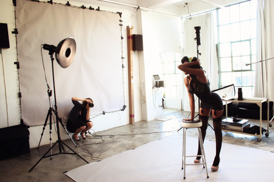 Behind-The-Scenes PINUP Mpho Tsila  015 with Leah Hawker