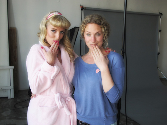 Kate Lovemore & Leah Hawker Behind-The-Scenes on the PINUP Project