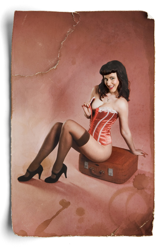 Wendy- Pinup Miss December 2011 Photography by Leah Hawker Cape Town Photography