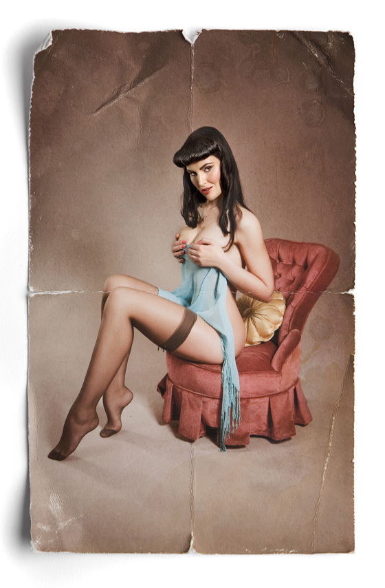 Yolandi W- Pinup Miss February 2012 Photography by Leah Hawker Cape Town Photography