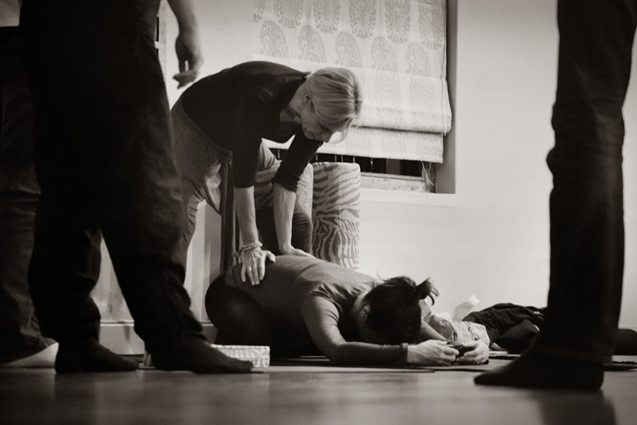 Doula &  Pregnancy Yoga instructor - Harriet Came - Couples Workshop Cape Town 003 Photograph by Leah Hawker