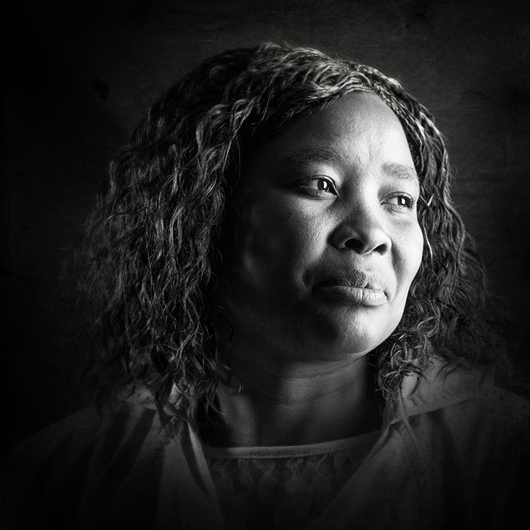 Nomvula Muriel Gxaka -Midwives & Doulas of South Africa - Portraits by Leah Hawker
